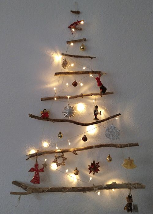 Nachhaltiger Weihnachtsbaum