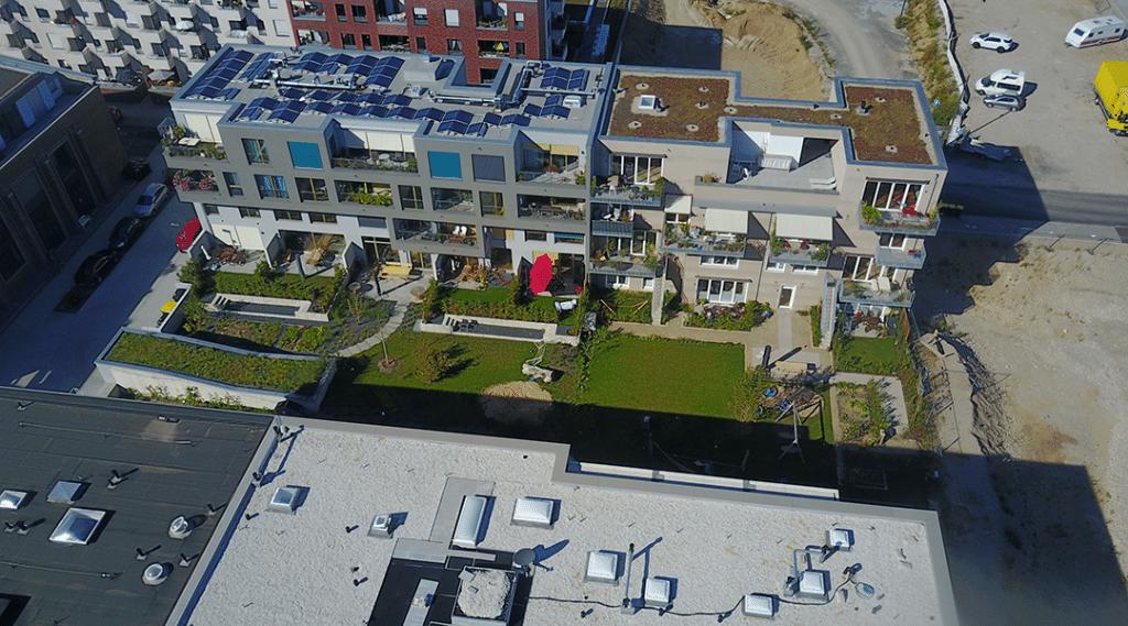Photovoltaikanlage Baugruppe Achtbar Köln-Nippes