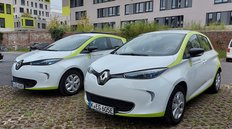 Carsharing Renault ZOEs