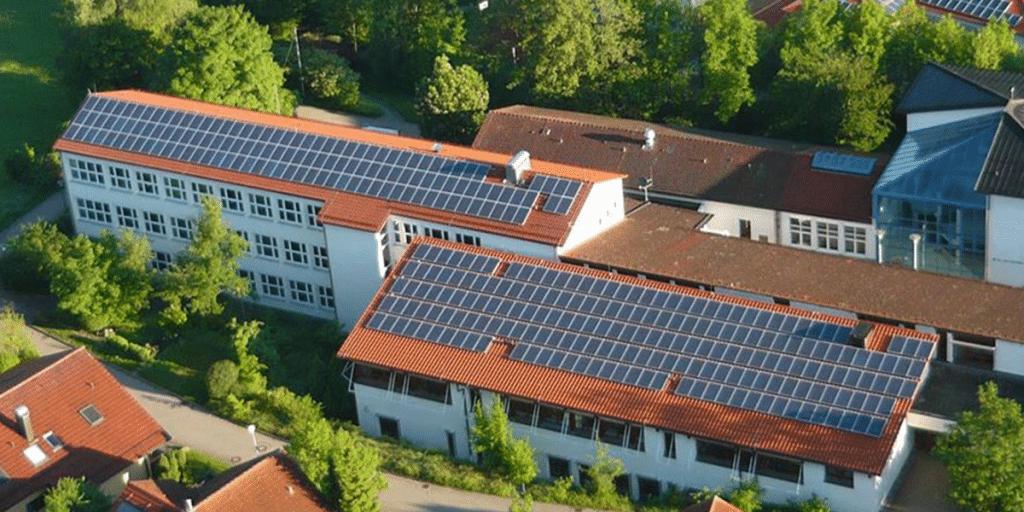 Kommunal Dacherfassung Paul-Kerchensteiner-Schule