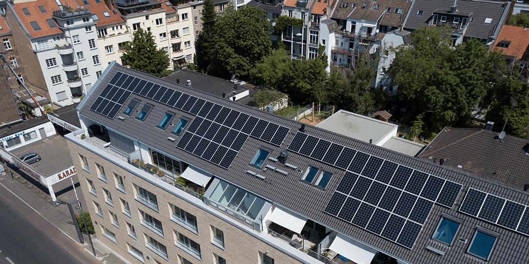 Photovoltaik für Mieterstrom