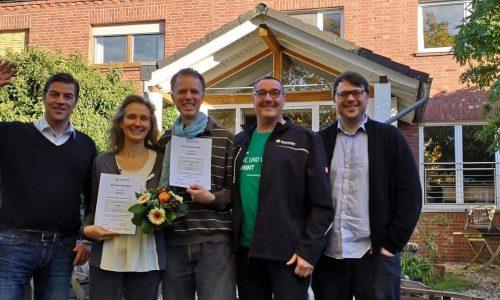 Antje Grothus wird Mitglied bei den Energiegewinnern
