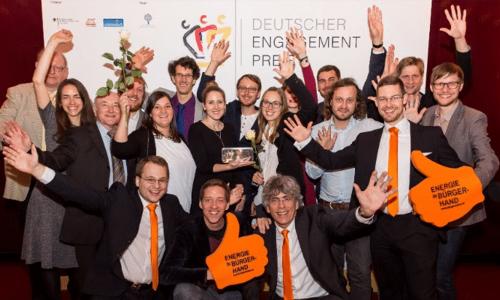 Bürgerwerke gewinnen den deutschen Preis für Engagement