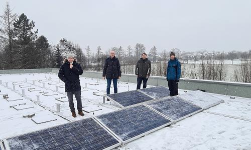 Photovoltaik Bauhof Verl