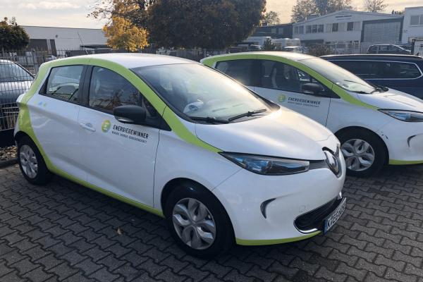 E-Carharing bei der Energiegewinner eG
