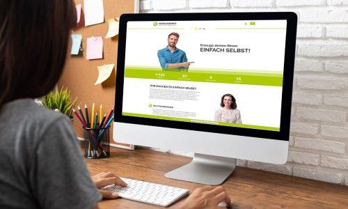 Relaunch der Energegewinner Webseite