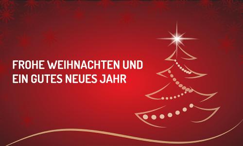 Die Energiegewinner wünschen frohe Weihnachten